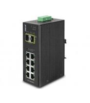 Switch Gigabit managed 8P 10/100/1000Base-T + 2P SFP IP30 Slim