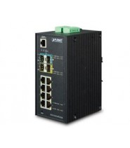 Switch Gigabit Ethernet L2+ 8-Porte 10/100/1000-T + 2-Porte 100/