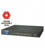 Switch Gigabit Ethernet L2+ 16-Porte 10/100/1000-T 2-Porte 10G SFP