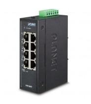 Switch Fast Ethernet 8-Porte 10/100Base-TX IP30 SLIM -40 a 75°C