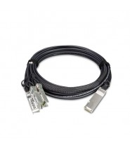 40G QSFP+ to 4 10G SFP+ Direct Attached Copper Cable - 3M