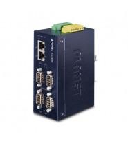 Server media converter Industriale 4-Porte RS232/RS422/RS485 IP40