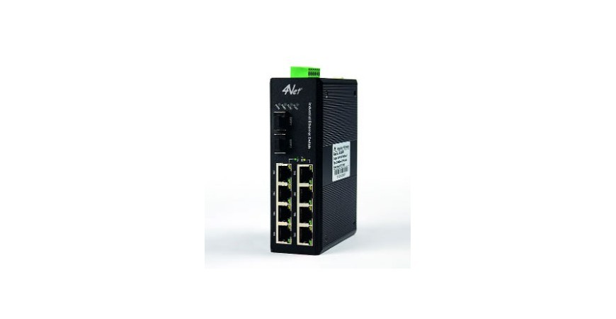 4NET: Nuova linea Switch industriali Gigabit PoE – Fibra ottica