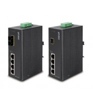 Switch Fast Ethernet PoE Web/Smart 4-Porte 10/100Base-TX IP30