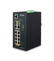 SWITCH 8P.1000T POE 802.3AT + 1000BASE T + 2P.SFP IP30