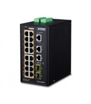 Switch Gigabit Ethernet L2+ 16-Porte 10/100/1000-T 802.3at PoE