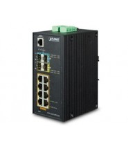 Switch Gigabit Ethernet L2+ 8-Porte 10/100/1000-T 802.3at PoE
