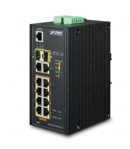 Gigabit Ethernet L2+ 8-Porte 10/100/1000-T 802.3at PoE 2-Porte 10/100/1000 2-Porte 100/1000 sfp