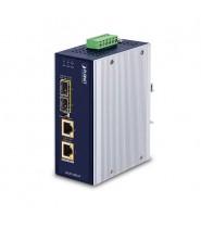 Media Converter 2-Porte 100/1000X SFP a 2-Porte 10/100/1000T 802.3bt PoE++