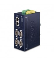 Server media converter Industriale 4-Porte RS232/RS422/RS485 IP40