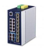 Industrial switch L3 8Porte 100/1000 T+ 8Porte 100/1000 SFP +  4Porte 10GB SFP