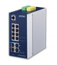 Switch Managed L3 8-Porte 10/100/1000T + 4-Porte 10G SFP+ (-40 a 75°)