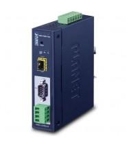 Modbus Gateway Industriale 1-Porta RS232/RS422/RS485  1 x 100-FX SFP slot, -40 a 75°C, dual 9~48V DC