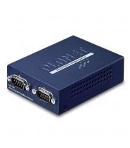Modbus Gateway 2-Porte RS232/422/485 (-10 a 60°C)
