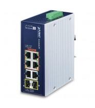 Switch Unmanaged 4-Porte 10/100/1000T 802.3bt PoE + 2-Porte 10/100/1000T + 2-Porte 100/1000XSFP (-40 a 75°C)
