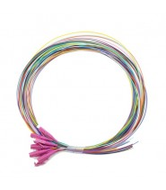 LC Pigtail 900um fiber 50/125 OM4 1 mt Confezione da 12 Pezzi di Colori Differenti