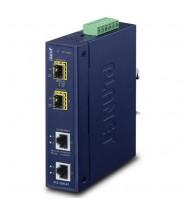 Media Converter 2-Porte 10/100/1000T a 2-Porte 100/1000/2500X SFP (-40 a 75°C)