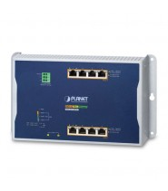 Switch Managed Wall-mount 4-Porte 10/100/1000T 802.3bt PoE + 4-Porte 10/100/1000T 802.3at PoE