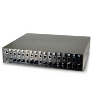 CHASSIS 16-SLOT MEDIA CONVERTER SNMP MANAGEMENT