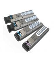 Transceiver fibra SFP (20KM) 100Mbps WDM Tx-1550 (-40 to 75 C)