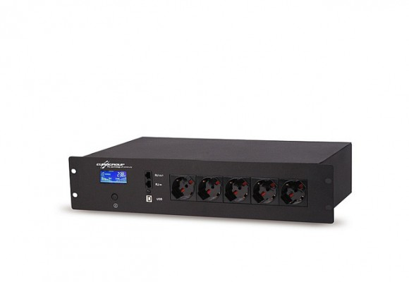 MULTIPOWER LCD: UPS multipresa per armadi rack da 650VA a 2KVA