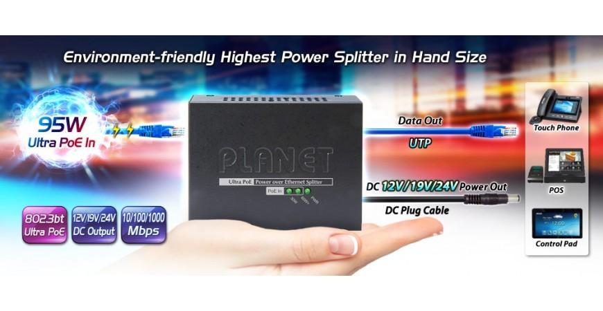 Ultra PoE splitter 172S